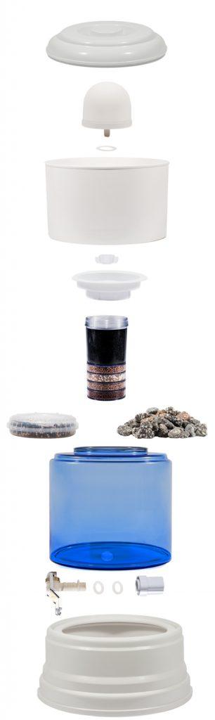 Aqualive AQV 12 waterfilter van glas