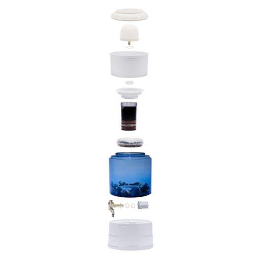 Aqualive AQV 5 waterfilter van glas