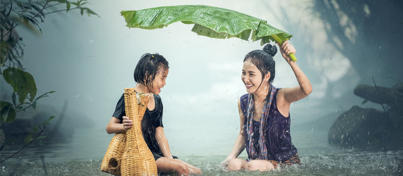 Slootwater of regenwater omzetten in gezond drinkwater